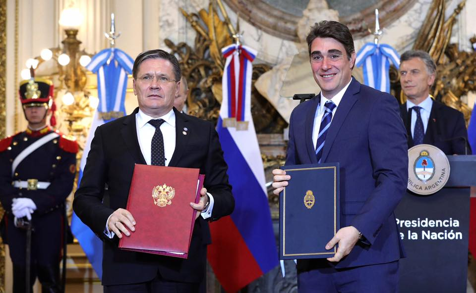 Russia and Argentina signed a strategic document, envisaging improved cooperation in the peaceful use of nuclear energy