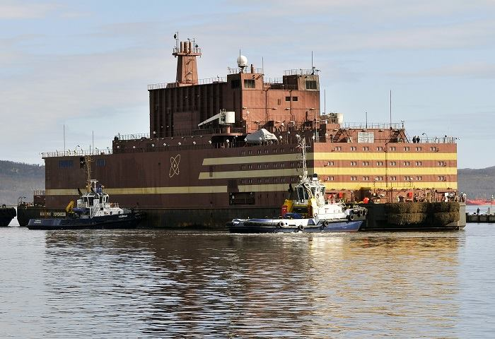 Akademik Lomonosov completed charging its nuclear reactors with fuel