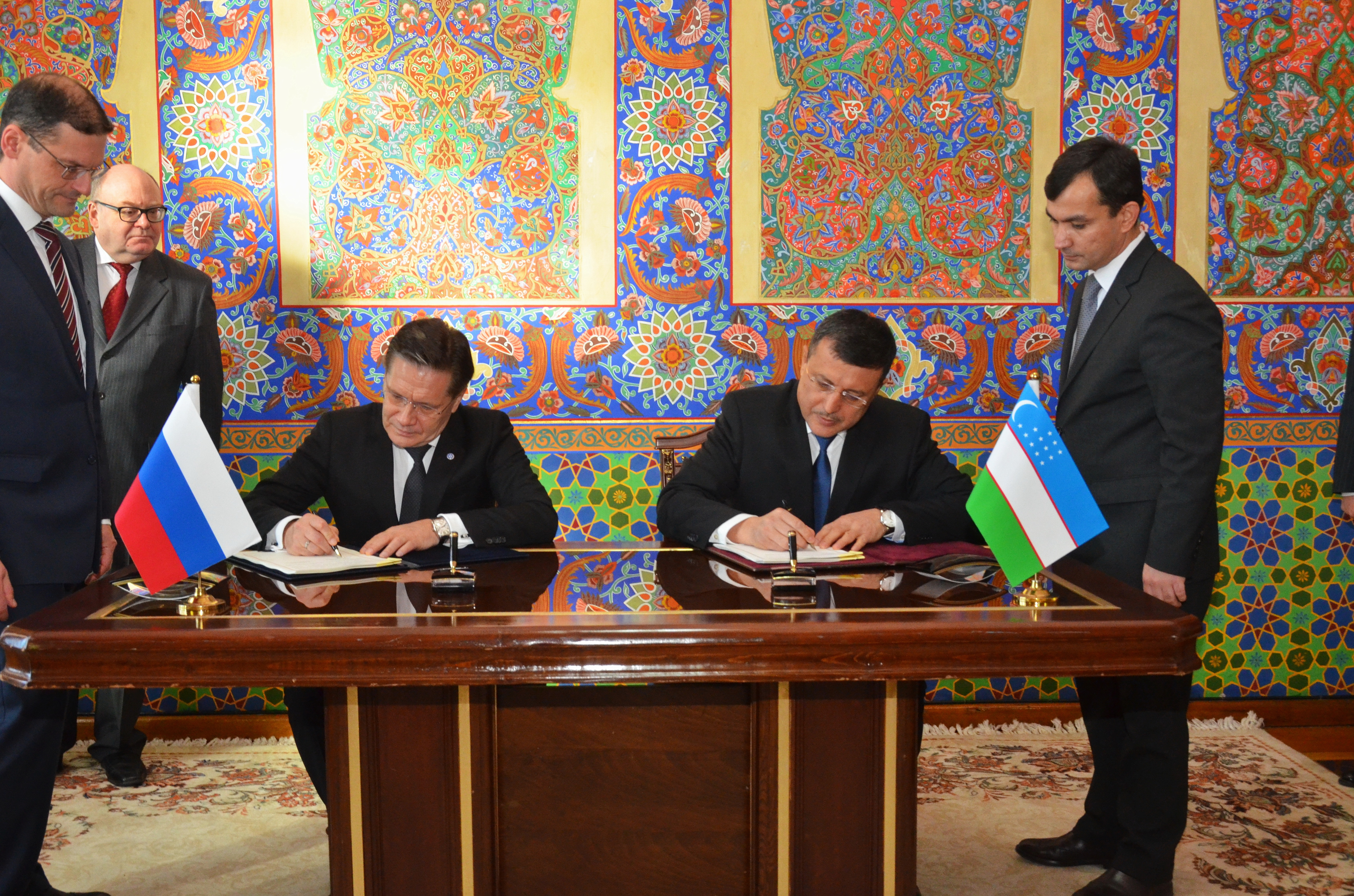 Russia and Uzbekistan Sign Nuclear Cooperation Agreement