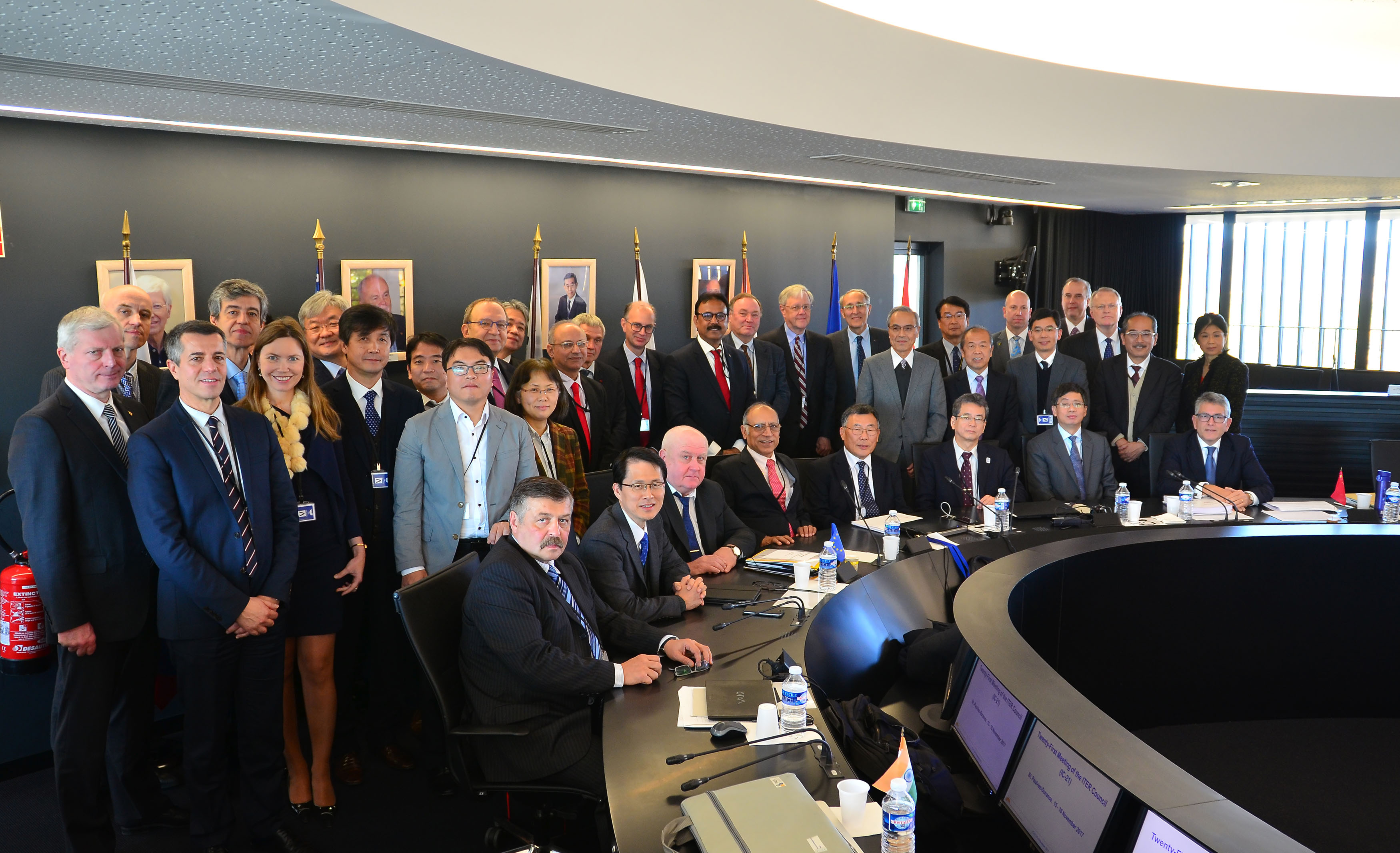 21st ITER Council affirms steady, measurable project progress
