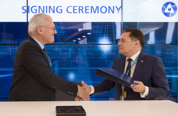 ROSATOM and EDF Signed a Memorandum of Understanding in R&D Sphere